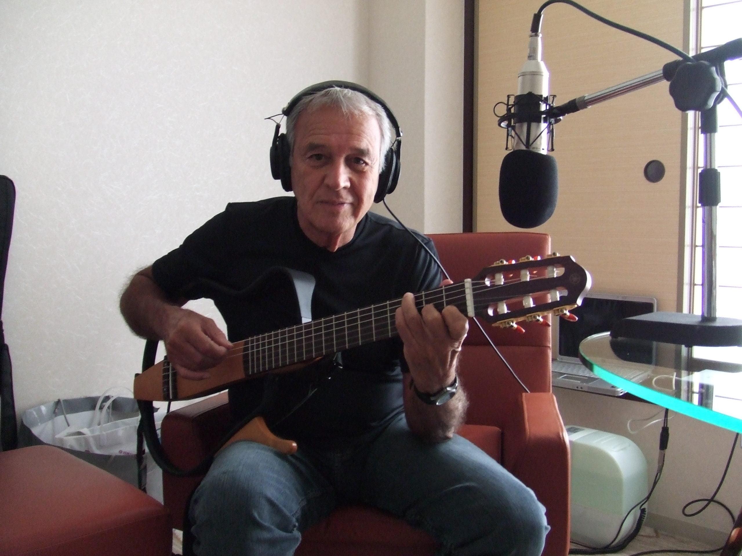 2007年カルロス・リラさんと(Aruanda録音時)