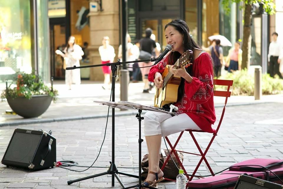 2015年・丸の内 野外イベント NPO法人 「街角に音楽を」企画