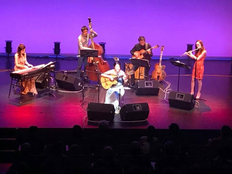 2018年・川崎アートセンター、アルテリオ小劇場にてボサノヴァコンサート