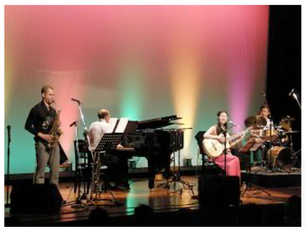 船橋市 二和公民館ボサノバコンサート。2010年か09年か・・・この時の写真が行方不明なの。見えるかな〜